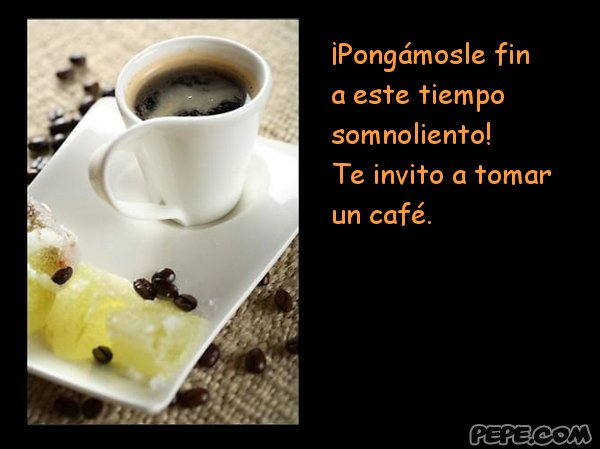 Image result for te invito a tomar cafe