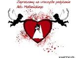Zapraszamy na uroczyste podpisanie  Aktu Małżeńskiego