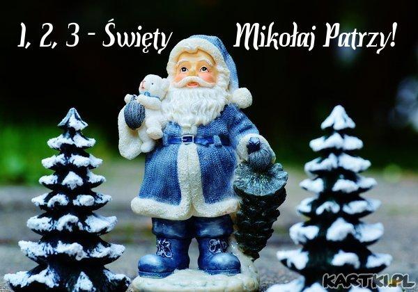 1, 2, 3 - Święty Mikołaj Patrzy!