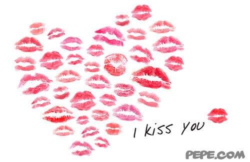 открытки с поцелуями: