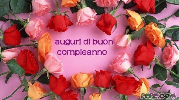 Conosciuto auguri di buon compleanno - Cartolina virtuale PEPE.com PA84