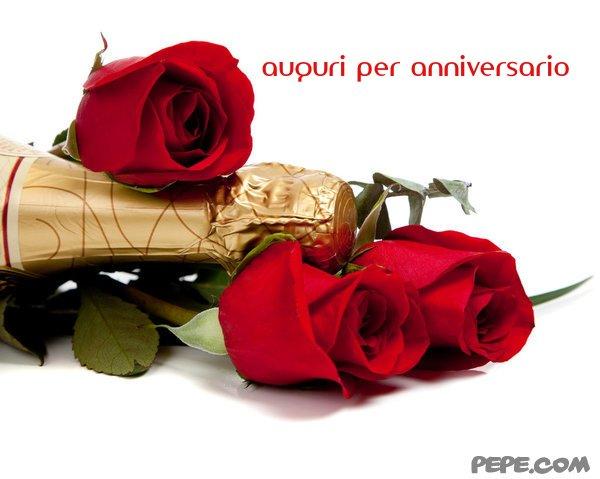 Famoso auguri per anniversario - Cartolina virtuale PEPE.com DX06