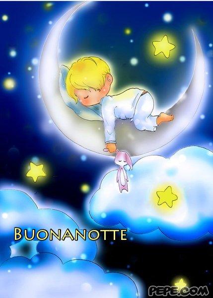 Conosciuto Buonanotte - Cartolina virtuale PEPE.com DN26