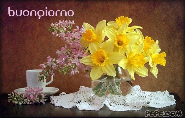 Top buongiorno - Cartolina virtuale PEPE.com XZ81
