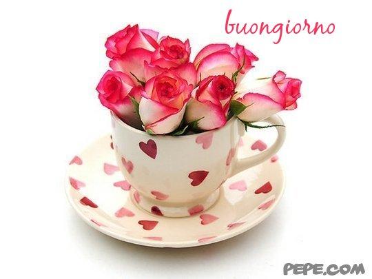 Favoloso buongiorno - Cartolina virtuale PEPE.com YJ08