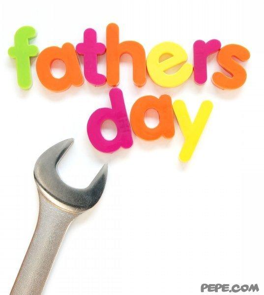 Der glückliche Vatertag!