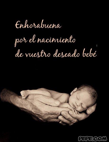 Felicitaciones por llegada del beb Im genes con frases para