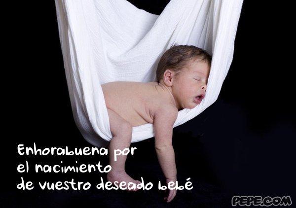 Felicitaciones Por El Nacimiento De Un Bebe