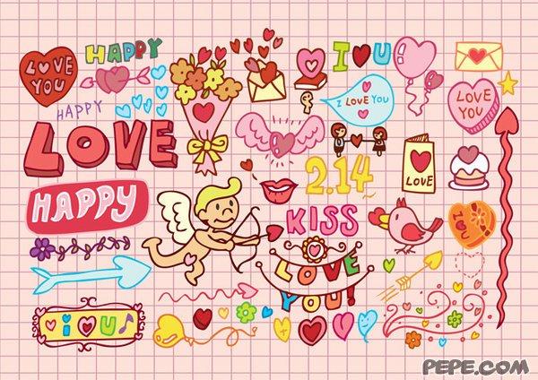 Frohen Valentinstag