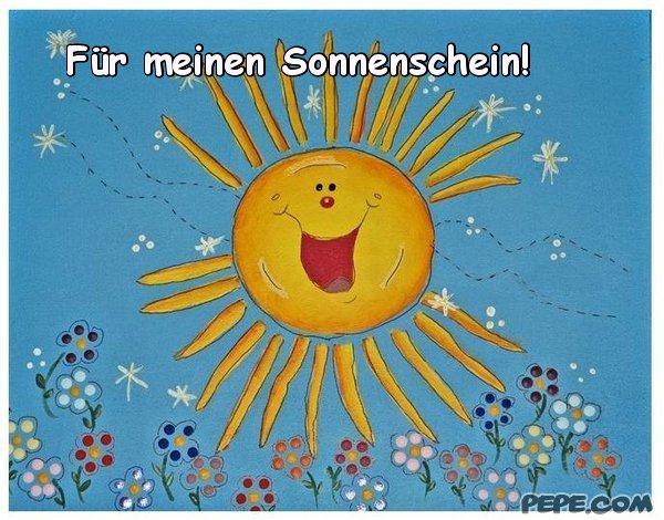 Für meinen Sonnenschein! Postkarte