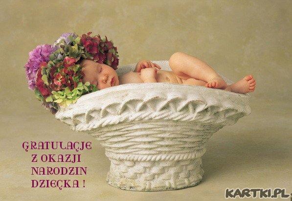 Gratulacje z okazji narodzin dziecka