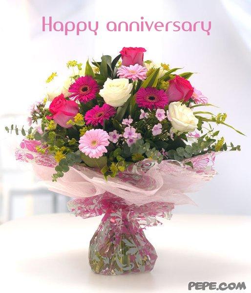 Happy anniversary - greeting card on PEPE.com