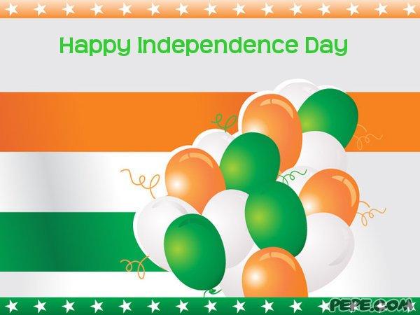 День независимости индии открытка