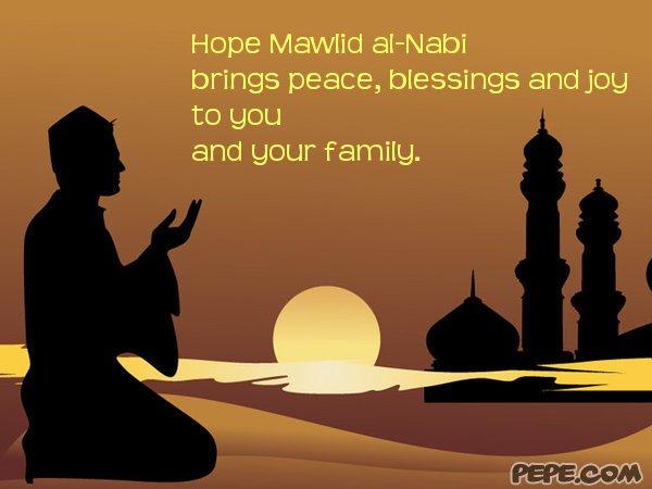 Hope Mawlid al-Nabi brings peace, blessings and joy to you ...