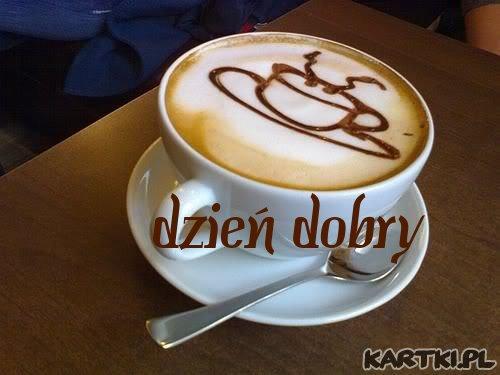 kawa na dzień dobry