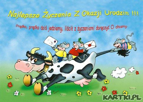 С днем рождения поздравления на польском