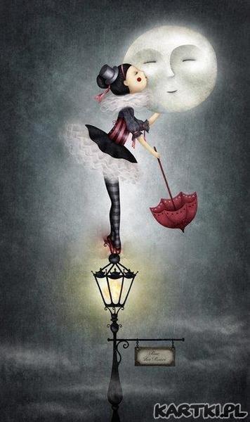 Pora na dobranoc, bo już księżyc świeci...