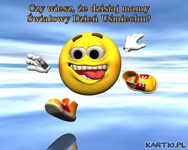 Światowy Dzień Uśmiechu - 7 pażdziernika