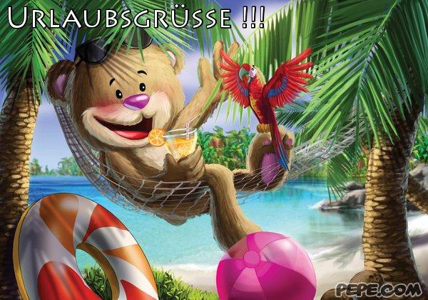Urlaubsgrüße !!!