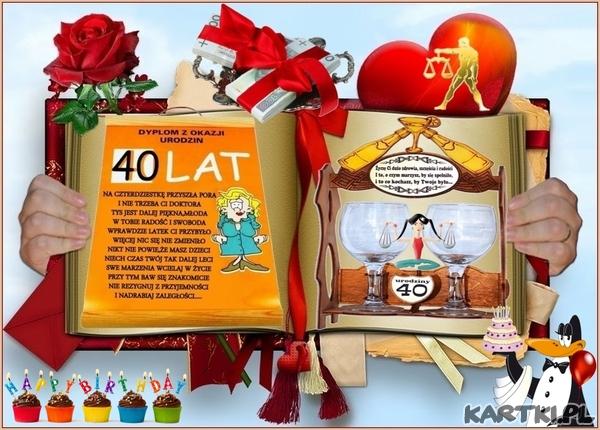 Urodziny 40 Lat Kartkipl