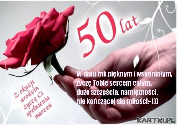 urodziny 50 LAT