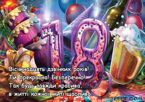 Открытки с днем рождения парню 18 лет 100