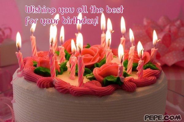 Wishing you all the best for your birthday greeting card on – Birthday Wishing Cards