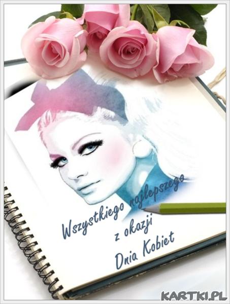 Wszystkiego najlepszego z okazji Dnia Kobiet - KARTKI.pl