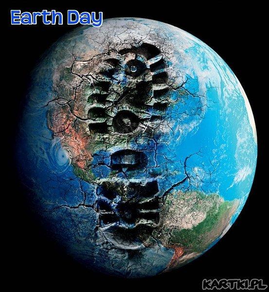 """""""Ziemię mamy tylko jedną,  a jej przyszłość zależy od każdego  na pozór niewielkiego  ludzkiego działania  zależy od każdego z nas..."""""""