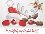 6 grudnia-św.Mikołaja.Pamiętaj wystawić buty!