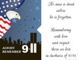 Always remember 9.11