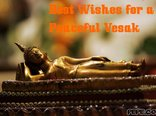 Best Wishes for a Peaceful Vesak