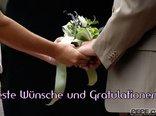 Beste Wünsche und Gratulationen