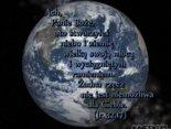 Bóg wyciągniętym ramieniem stworzył niebo i ziemię