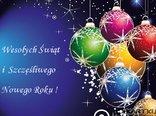 Dużo szczęścia, zdrowia i powodzenia, to tradycyjne, najszczersze życzenia! Wesołych Świąt i Roku Szczęśliwego, niech obficie da, co ma najlepszego!
