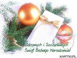 Dzieląc się z Tobą opłatkiem życzę Ci zdrowych, pełnych miłości, wiary i nadziei Świąt Bożego Narodzenia!