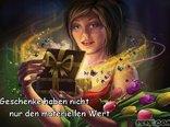 Geschenke haben nicht nur den materiellen Wert