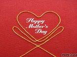 Glückliche Tag der Mutter!