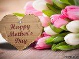 Glückliche Tag der Mutter