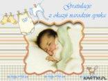 Gratulacje z okazji narodzin synka