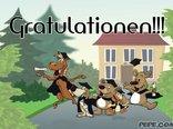 Gratulationen!!!