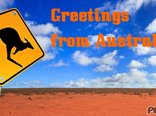 Greetings  from Australia