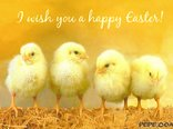 I wish you a happy Easter!