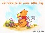 Ich wünsche dir einen süßen Tag