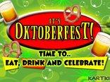 It's Oktoberfest!