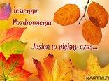 Jesień to piękny czas...