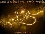 Na wszystkie dni w Nowym Roku życzę Ci radości w sercu i światła w mroku!