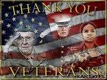 Niech Bóg błogosławi wszystkich weteranów i tych, którzy pozostają w służbie czynnej!