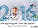 Niech Nowy Rok przyniesie Ci radość miłość pomyślnoś i spełnienie wszystkich marzeń