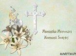 Pamiątka Pierwszej Komunii Świętej